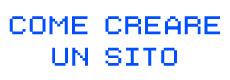 Come creare un sito