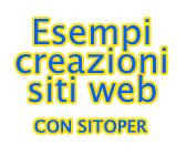 Esempi creazioni siti web